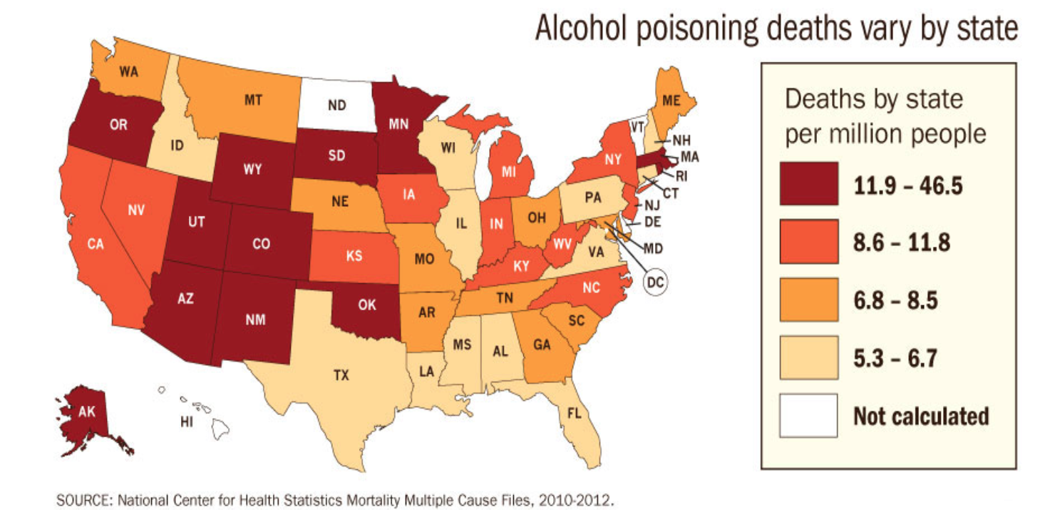 Health Professionals More Alcohol Deaths Than Cdc Report Suggests