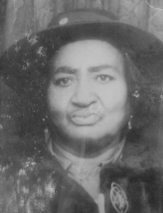 "Mary Child, Minnie Wilson's grandmother in an undated family photo. ""My grandmother [was not killed], but a lot of times people got killed. My dad said their spirits weren't rested. So they would come back because their spirit weren't rested,"" Wilson said."