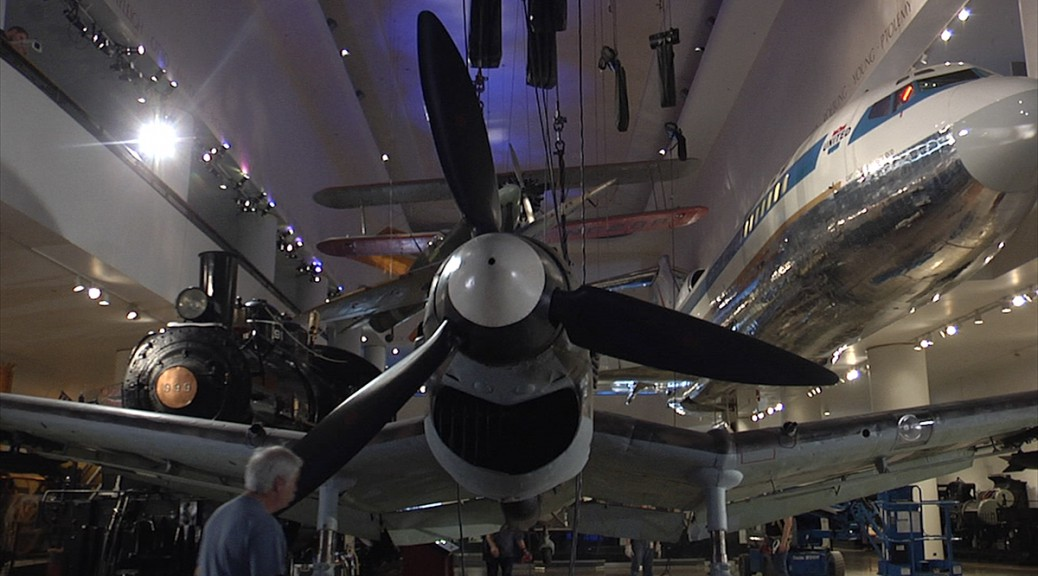 Video nazi bomber lands at museum of science and industry for Northwestern industries