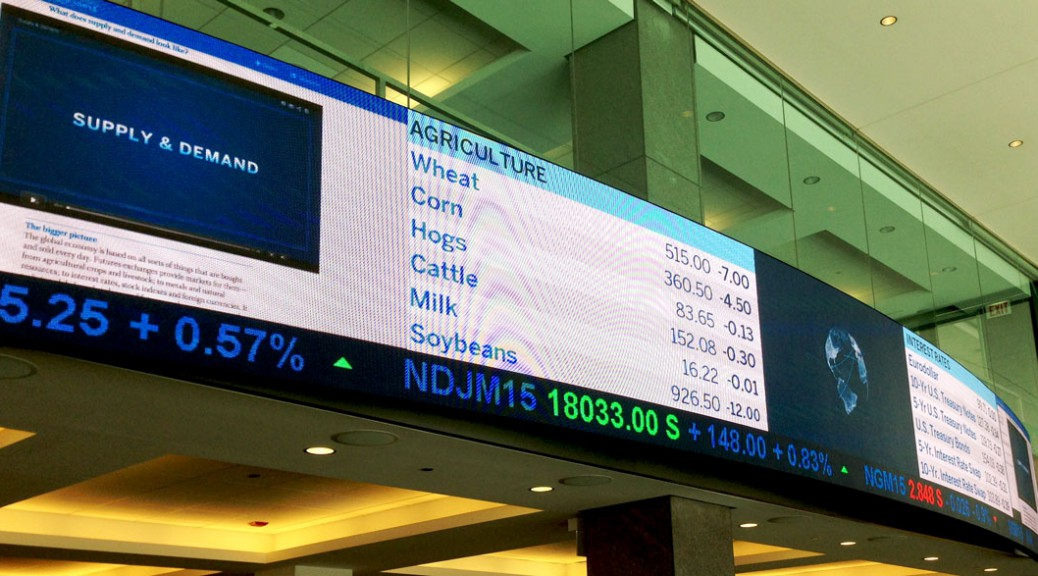 The CME's trading platform is where all three alleged spoofing took place. (Lucy Ren/Medill)