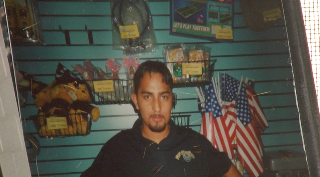 Miguel used to work in a game stop in Mexico (Coral Lu and Sean Froelich/Medill)