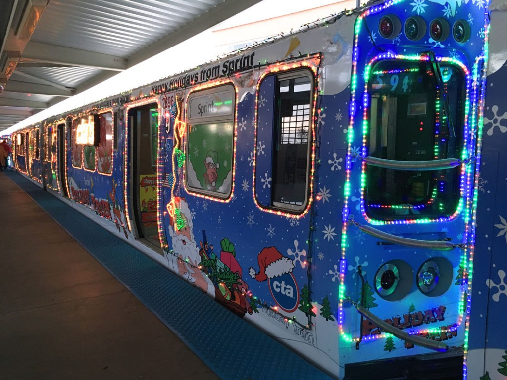 the pink line holiday train runs three days in december with two trips per day qingwei vivian chenmedill