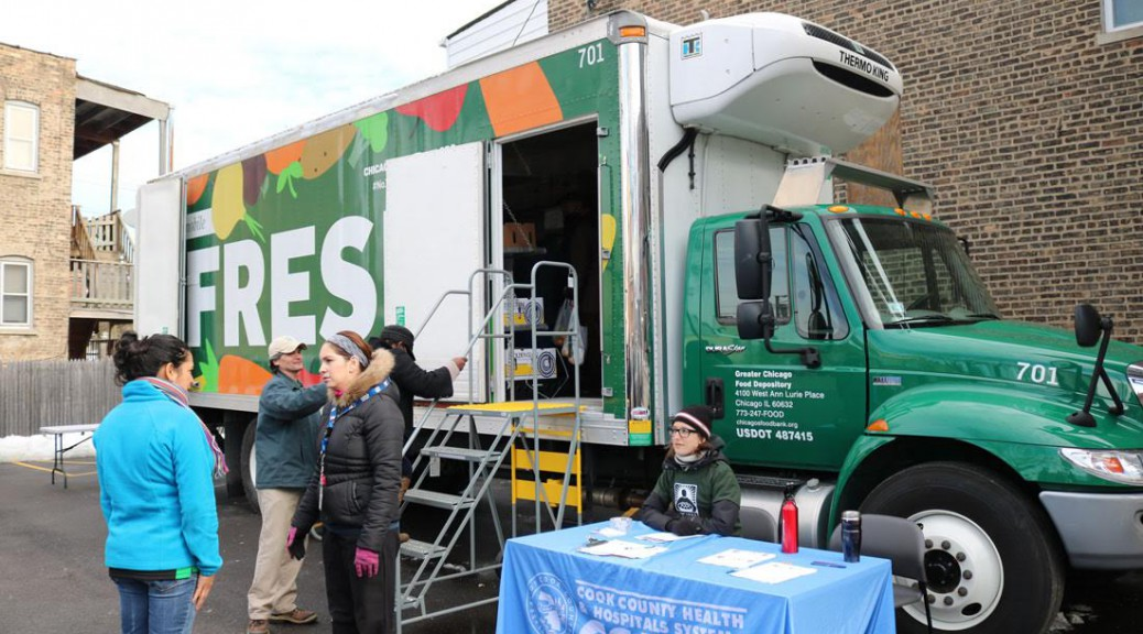 FRESH Truck from Greater Chicago Food Depository