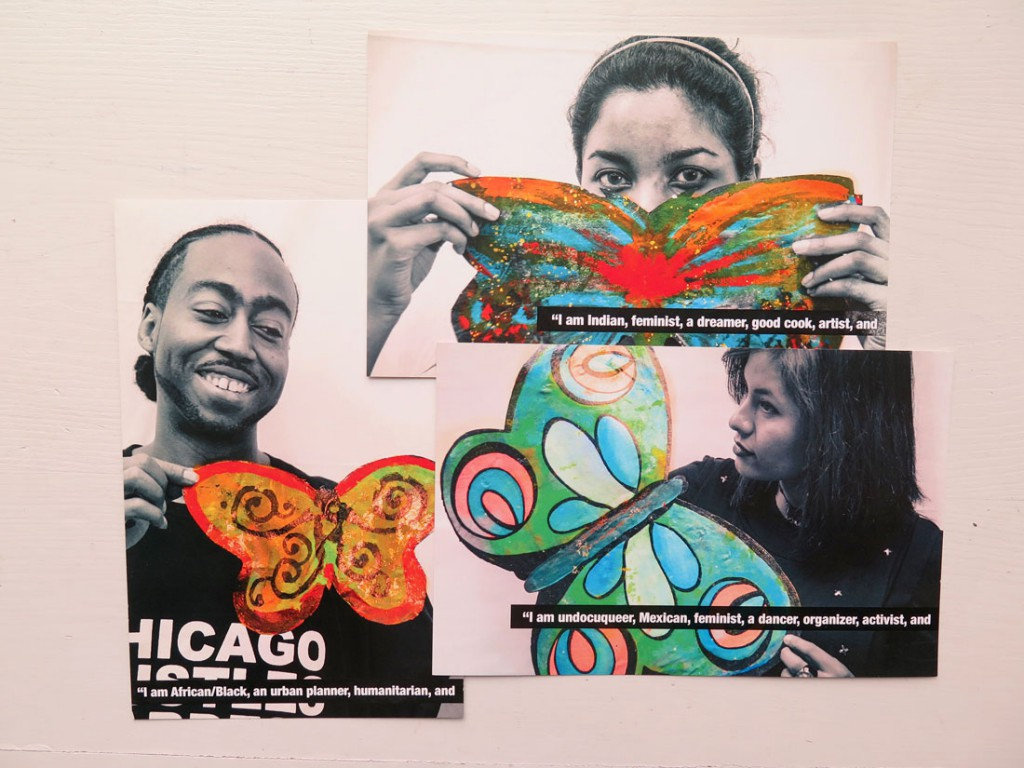 undocumented community support postcards