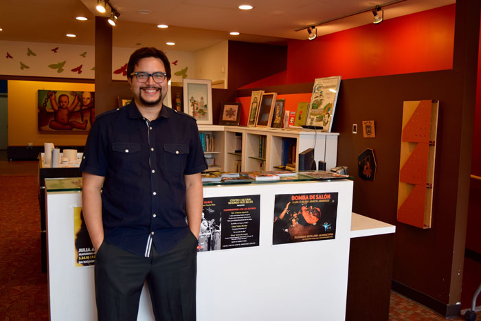 """Puerto Rico native Omar Torres-Kortright considers his move to Chicago the experience of an immigrant: """"I grew up speaking Spanish, my culture is very different from the culture of the United States,"""" he says."""