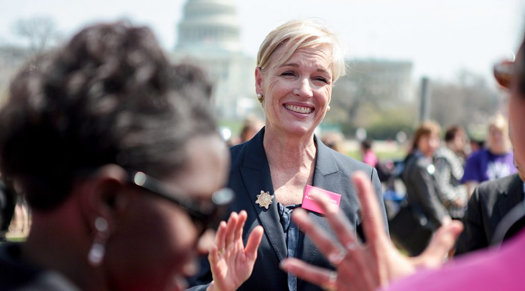 Cecile Richards, president of Planned Parenthood