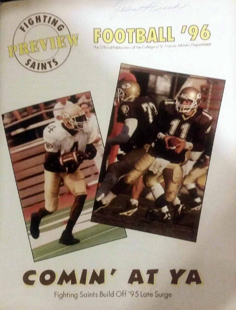 St. Francis University Football Preview '96