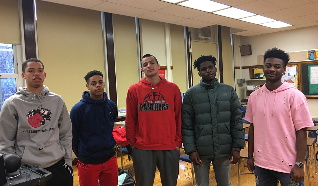 Von Steuben Seniors Enter Great Unknown After Prep Careers