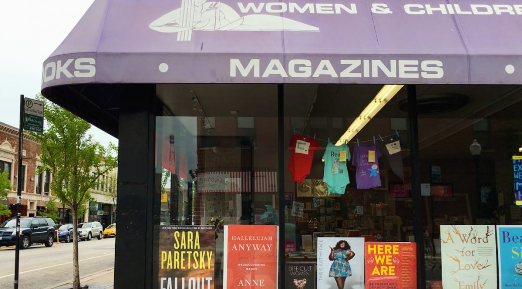 Women & Children First Bookstore has been around since 1979. (Shen Lu/MEDILL REPORTS)