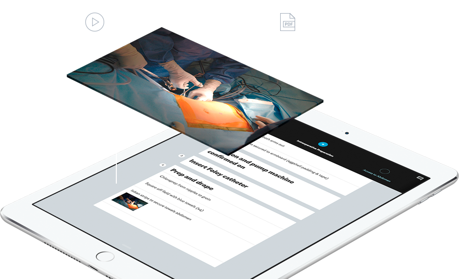 Chicago based ExplORer Surgical provides a real-time surgical workflow management tool that serves as a centralized information source for all OR team members.