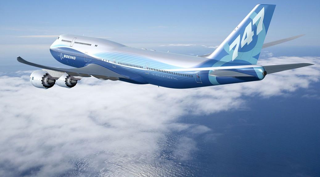 Boeing plane 747-8P