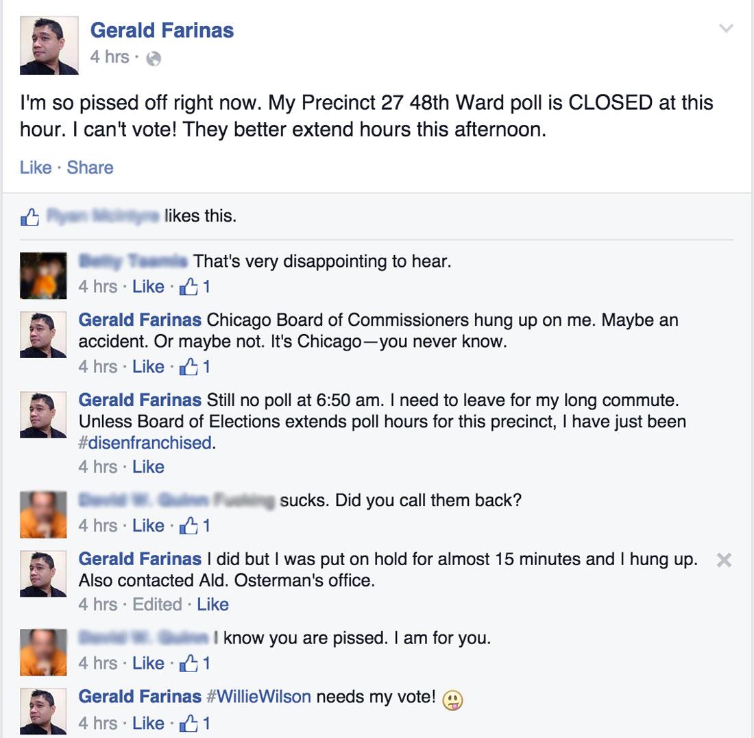 Gerald Farinas Facebook post