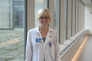 Dr. Jill Huded, a geriatric fellow at Northwestern Memorial Hospital.