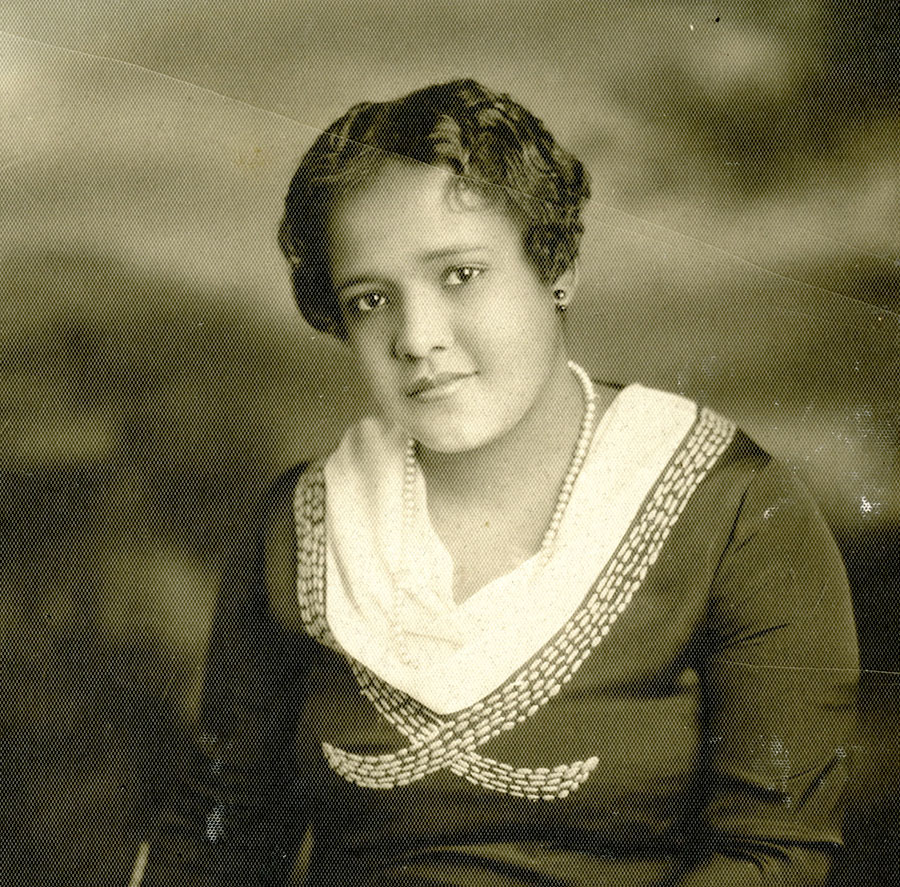 """Ethel Payne graduated from what was then Lindblom Technical High School in January 1930. According to her biographer, Payne had the same English teacher as Ernest Hemingway, and Lindblom """"played a critically important role in shaping her as a reporter later."""" (Photo courtesy of James McGrath Morris)"""
