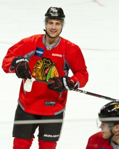 Sharp has been a consistent presence for the Blackhawks since his arrival via a trade in 2005. (David Kindler/Creative Commons)