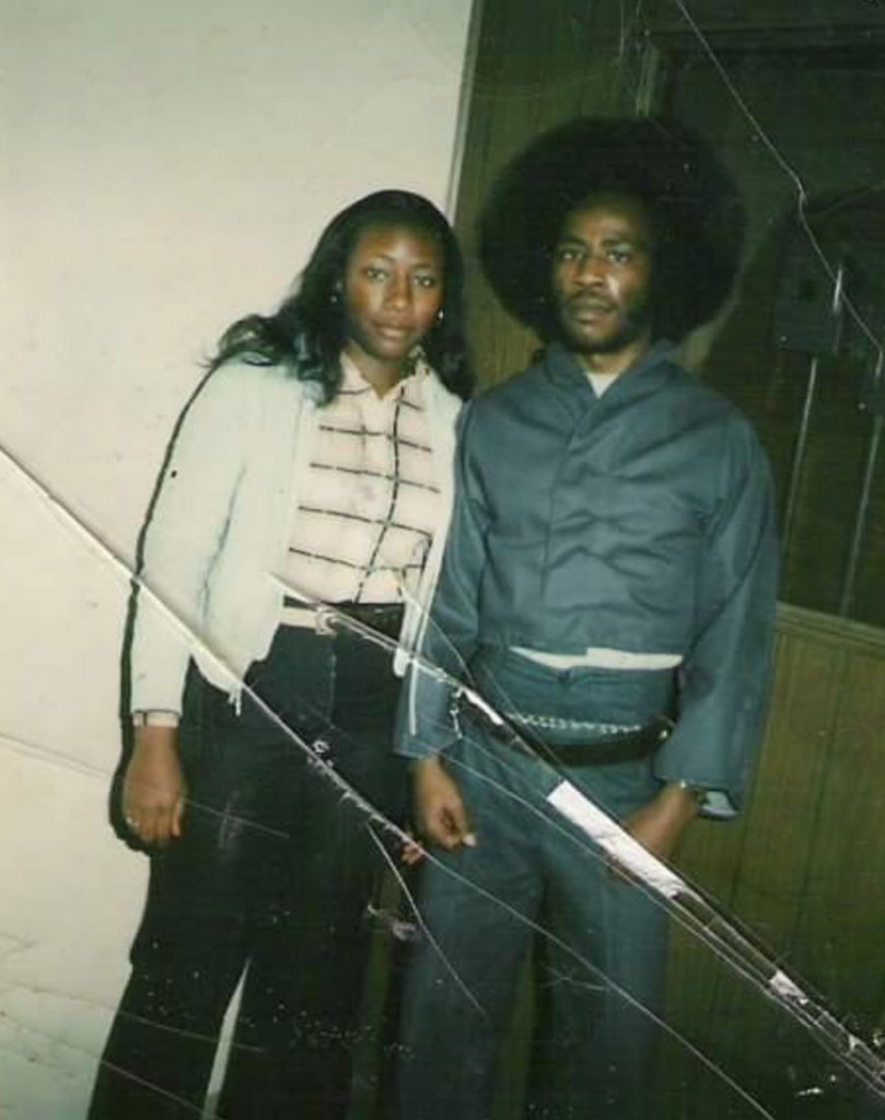 Sharon Lacy shared this old photo of her with her brother Benneth Lee.