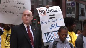 Homeless Budget Rally