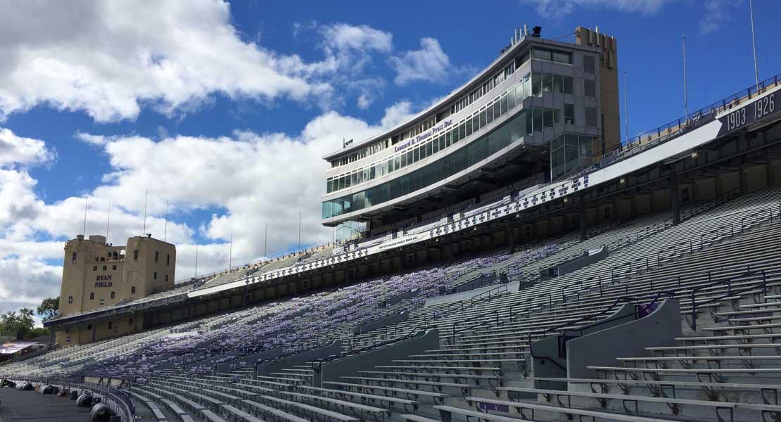 Ryan Field NU Football Stadium