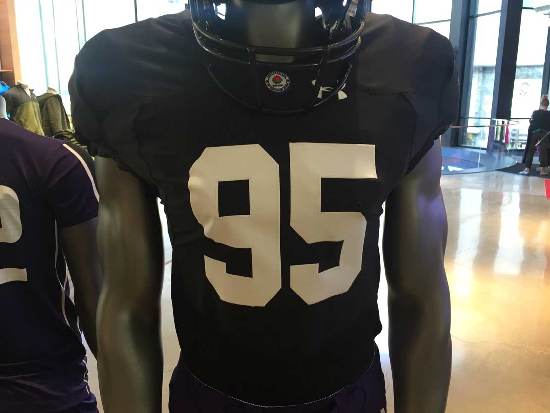 new product 2ba57 559fc Reactions mixed on Northwestern's tribute jerseys | Medill ...