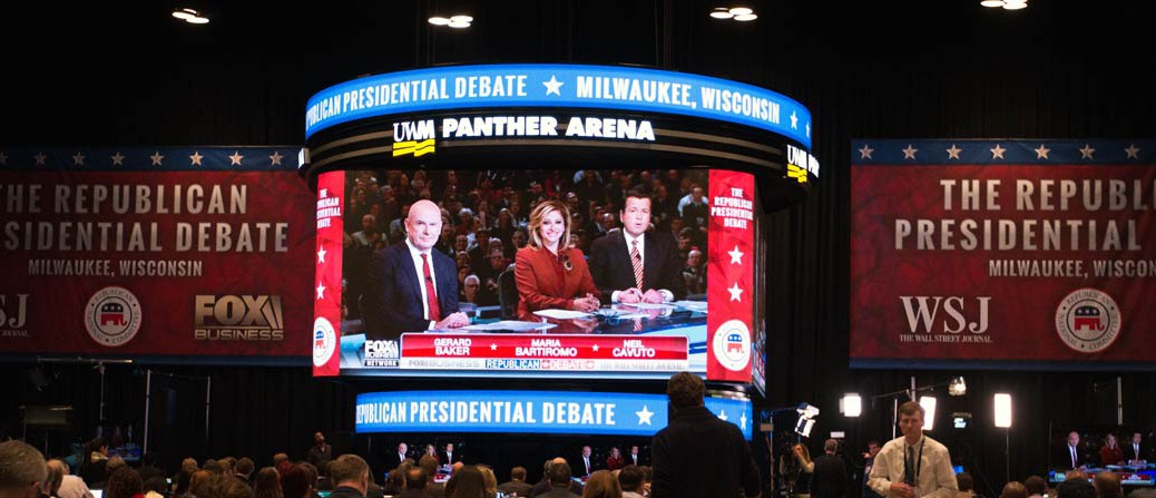Milwaukee GOP debate moderators