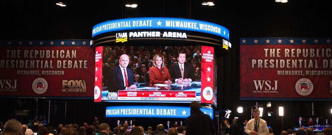 Milwaukee GOP debate moderators
