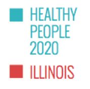 Illinois Progress Toward Healthy People 2020 Objectives - Courtesy of Heartland Alliance