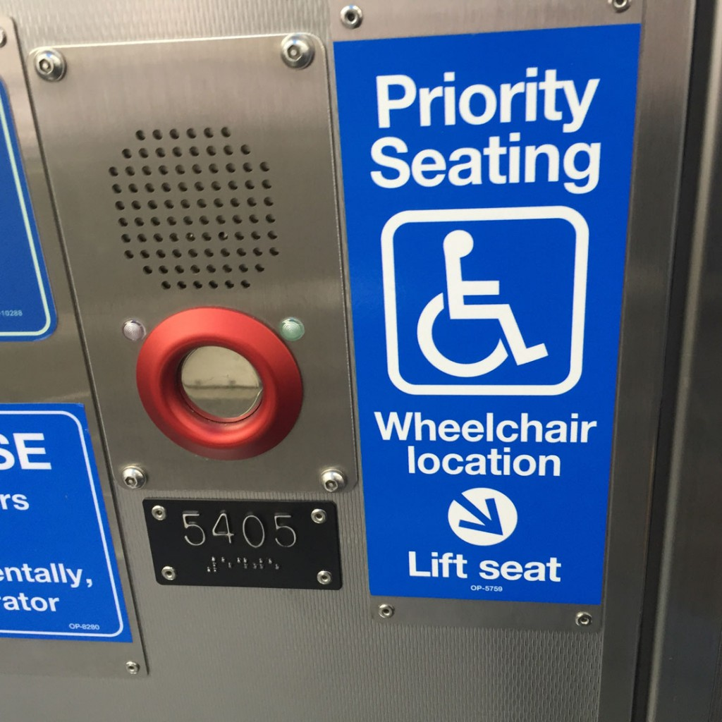 Wheelchair location