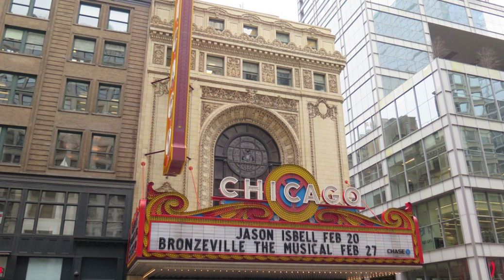 """Bronzeville The Musical"" at the Chicago Theater"