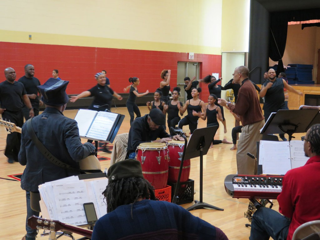 """Bronzeville The Musical"" rehearsal"