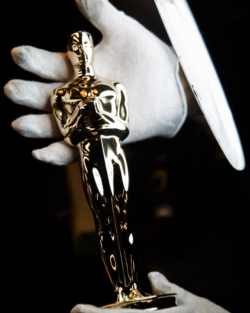 A finished Oscar. (Dorith Mous/©A.M.P.A.S.)