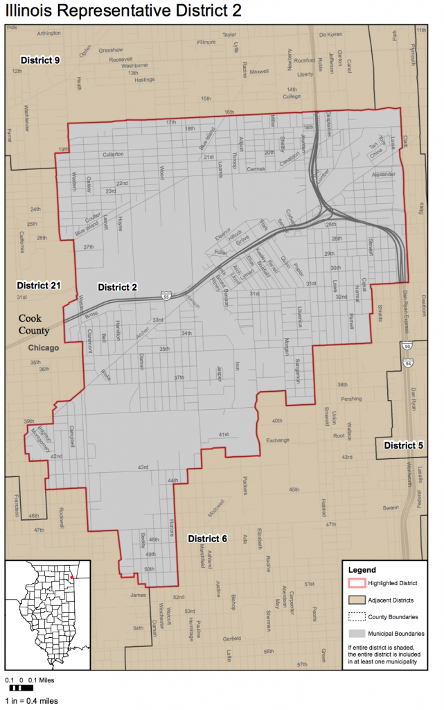 2nd District Boundaries