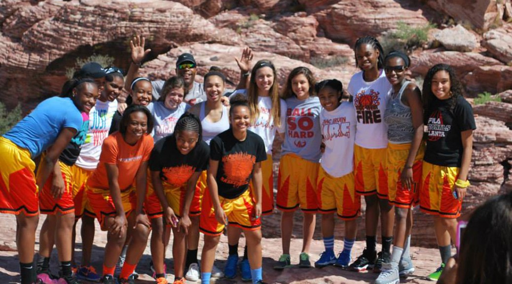 Lady Fire travel team