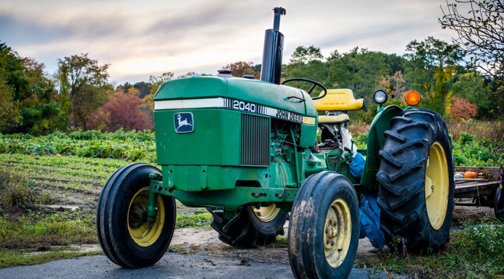 Equipment like this John Deere tractor can be shared between farmers on Machinery Link Solutions.