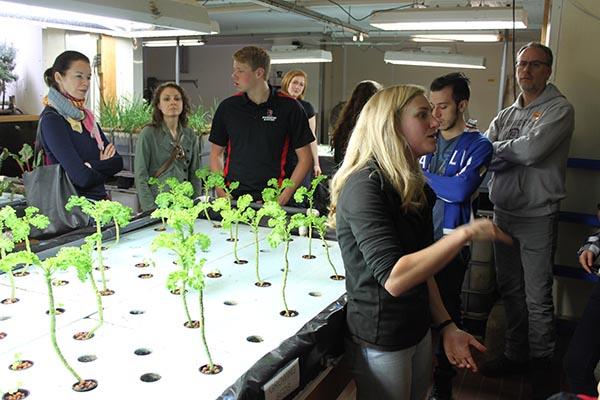 Urban Ag The Plant tour
