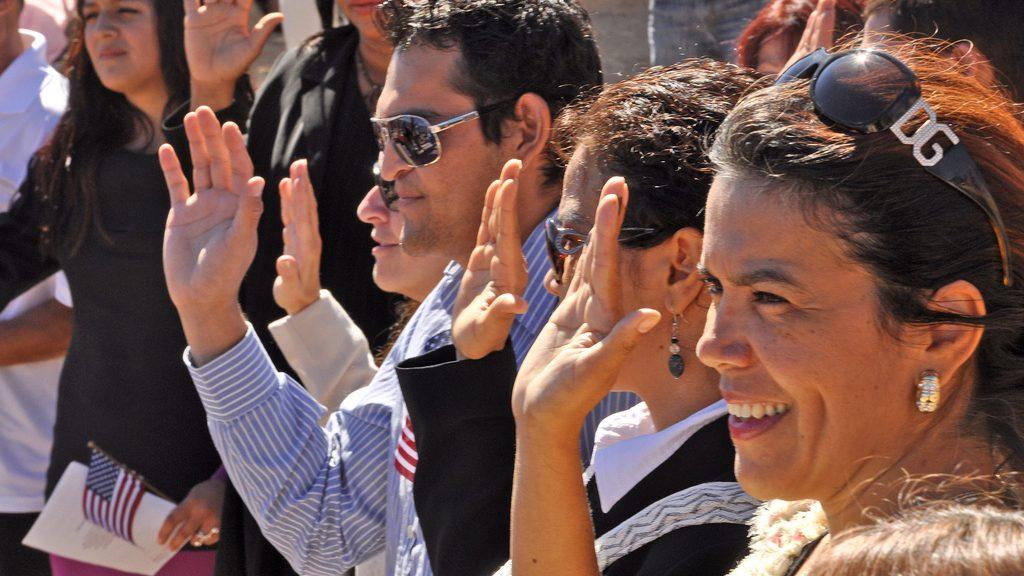 citizenship oath ceremony