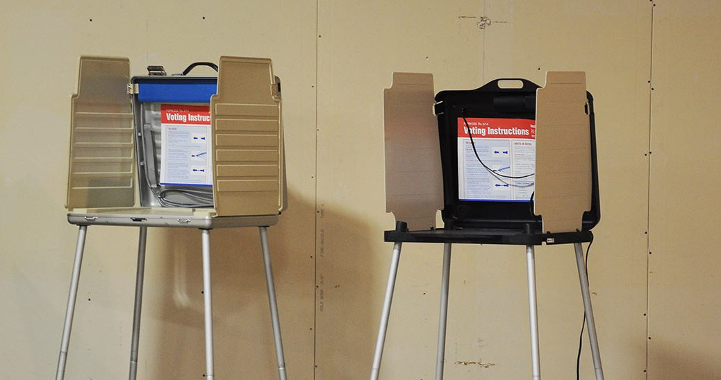 Chicago voting booth