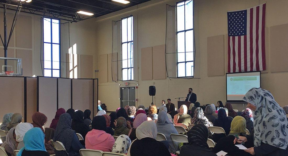 Muslim Town Hall Meeting at ICN