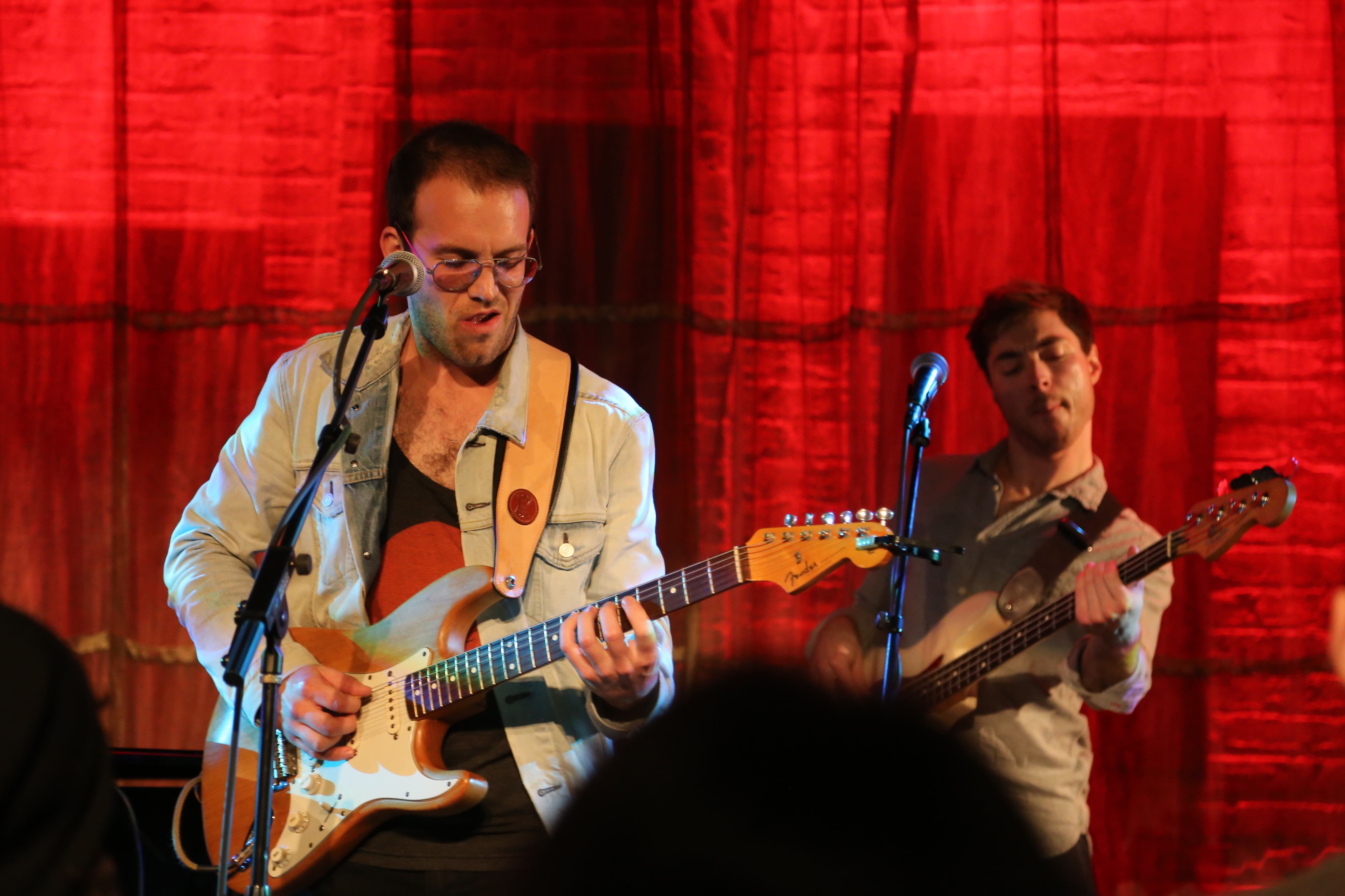 Theo Katzman and Joe Dart at Evanston SPACE