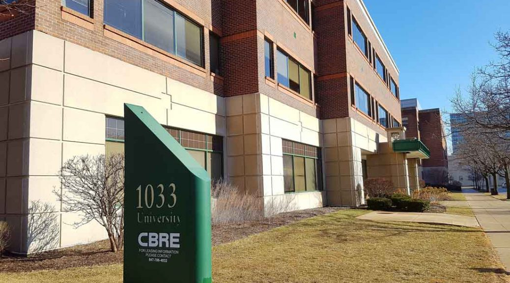 A property in Evanston leased by CBRE