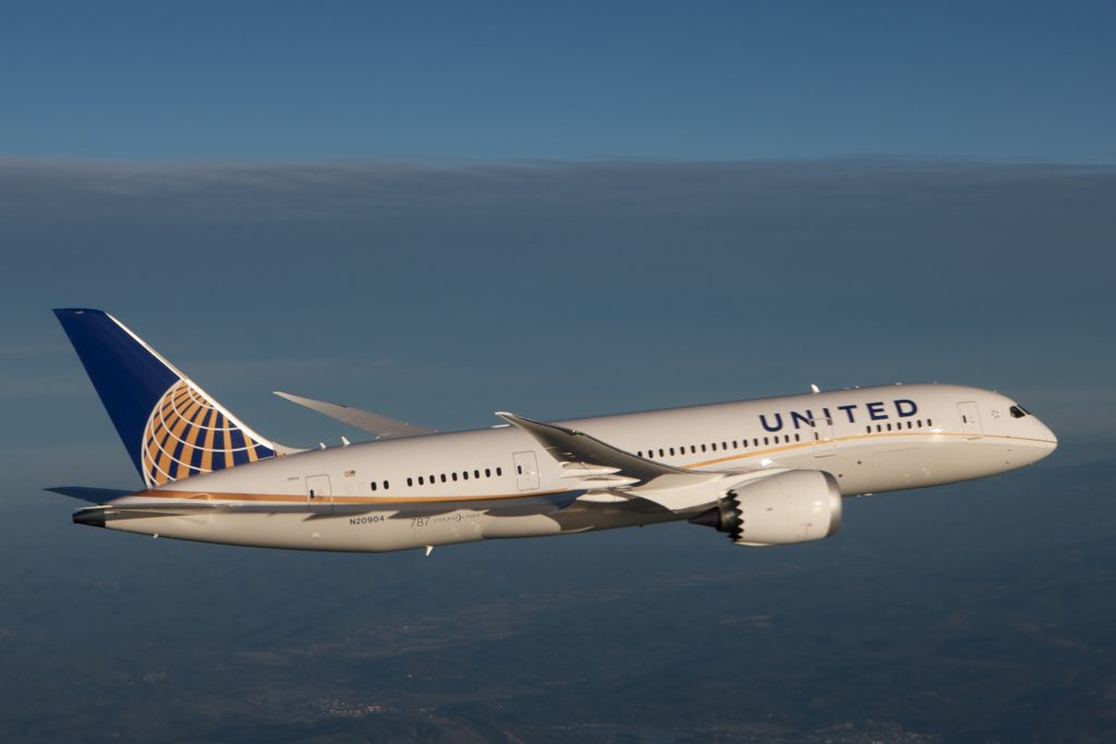 United Airlines is the No.3 U.S. airline by passenger traffic. (Courtesy of United Airlines)