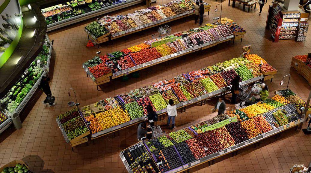 Supermarket in North America