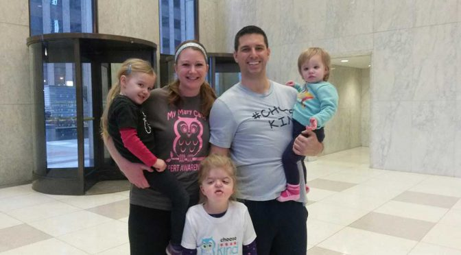 Patient champion Mary Cate Lynch and her family.