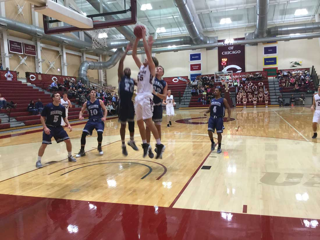 University of Chicago basketball player Ryan Jacobsen