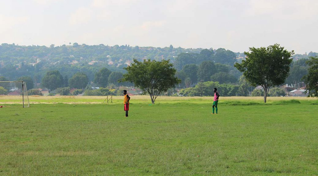 Soccer players South Africa