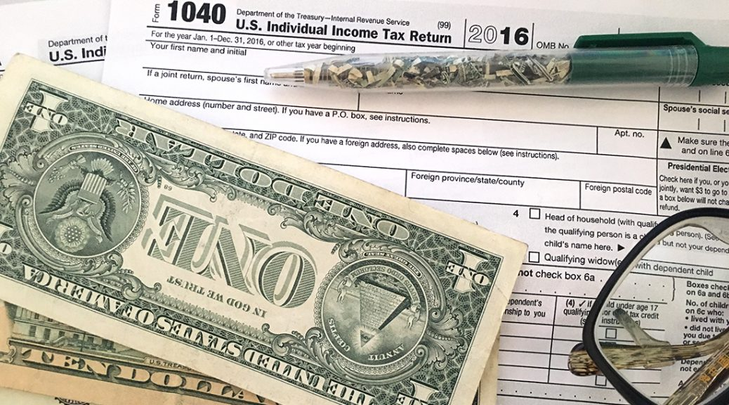 The tax filing deadline falls on April 18 this year. (Shen Lu/MEDILL)