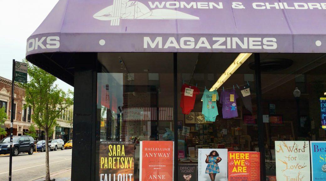 Women & Children First Bookstore has been around since 1979. (Shen Lu/MEDILL REPORTS)