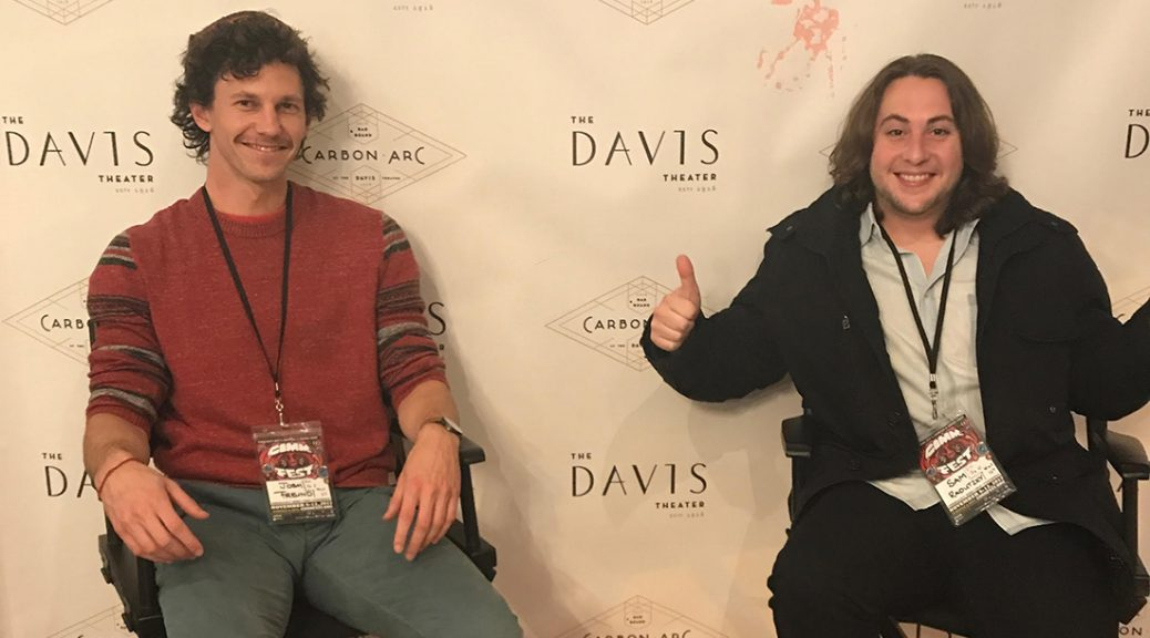 """Filmmakers (from left) Josh Freund and Sam Radutzky go behind the scenes with the band Papa Grows Funk in their music documentary, """"Do U Want It."""""""