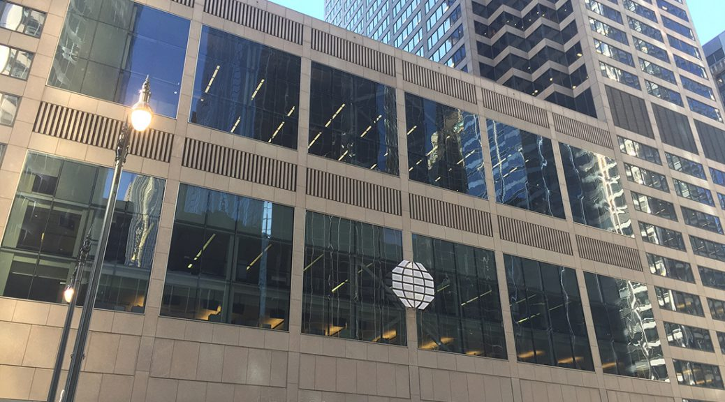 CME Group office in Chicago.