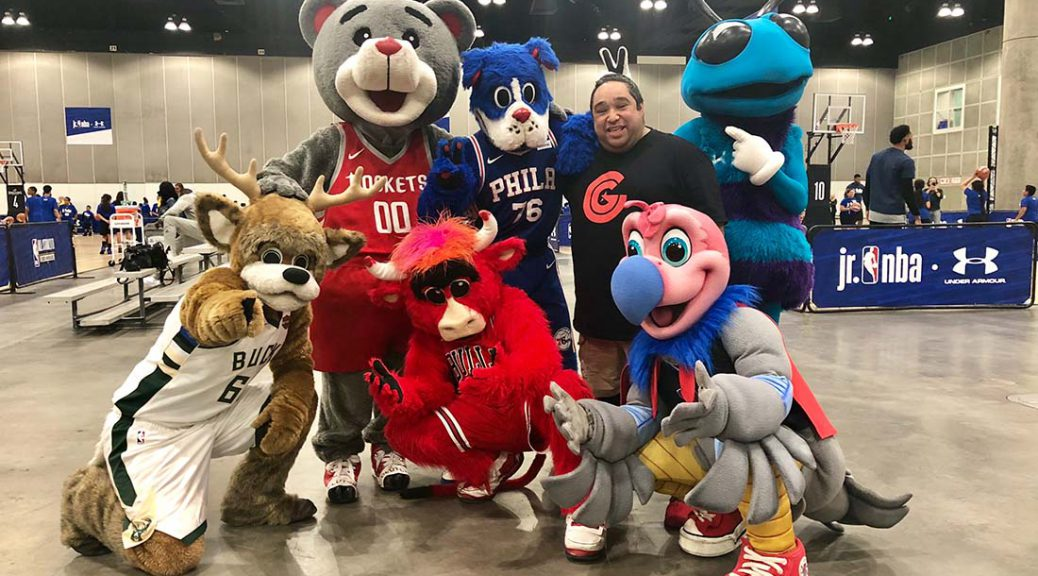 Catching Up With All Star Weekend S Mascot Babysitter