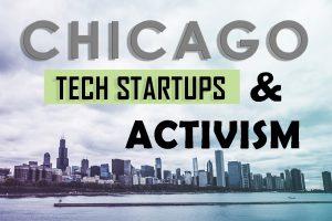 Chicago Skyline (unsplash.com), Graphic Design by DeForest Mapp